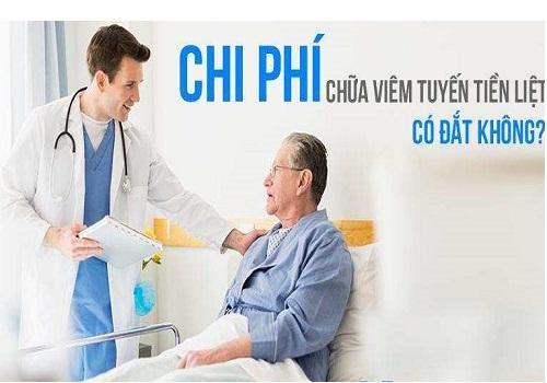 Điều trị bệnh viêm tuyến tiền liệt hết bao nhiêu tiền