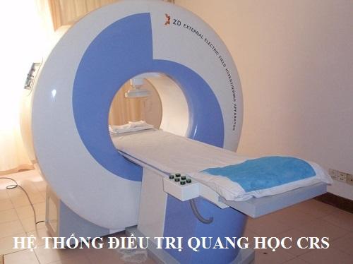 Hệ thống điều trị quang học CRS dùng để điều trị bệnh gì?