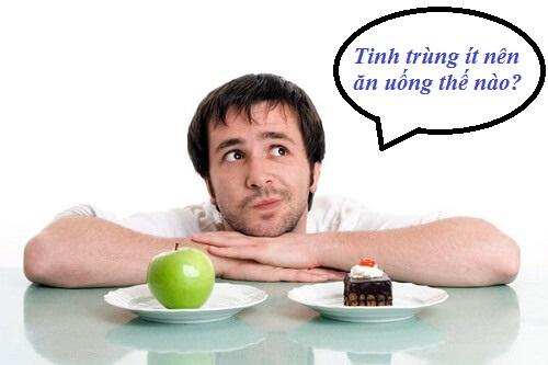 Chế độ ăn uống cho người bị ít tinh trùng