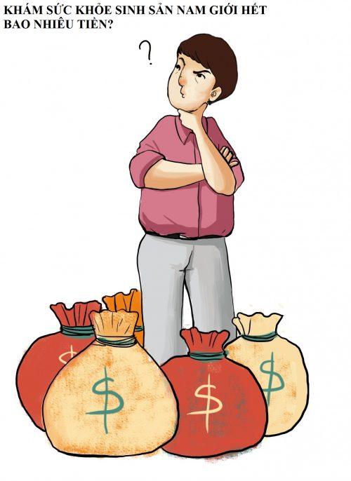 Khám sức khỏe sinh sản nam giới hết bao nhiêu tiền?
