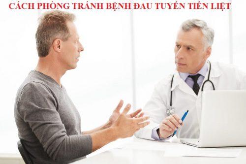 Cách phòng tránh bệnh đau tuyến tiền liệt hiệu quả