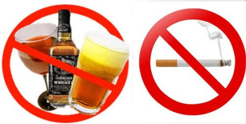 rượu bia và thuốc lá