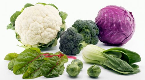 đau tuyến tiền liệt nên ăn rau cải