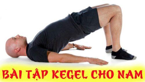 Tác dụng của bài tập Kegel với nam giới