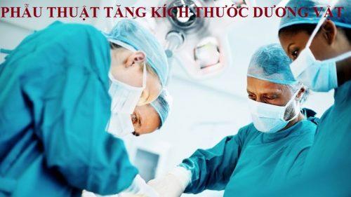 Phương pháp phẫu thuật tăng kích thước dương vật